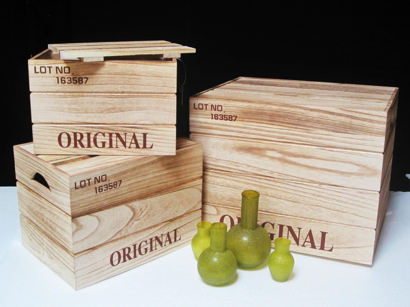 Opbevarings kasser