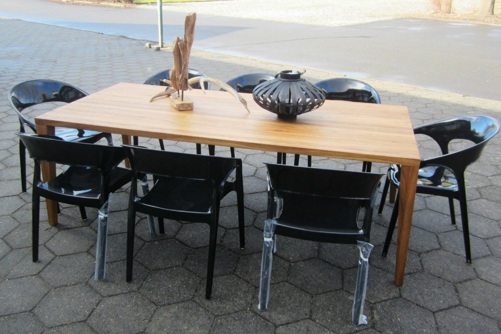 Akryl spise stole