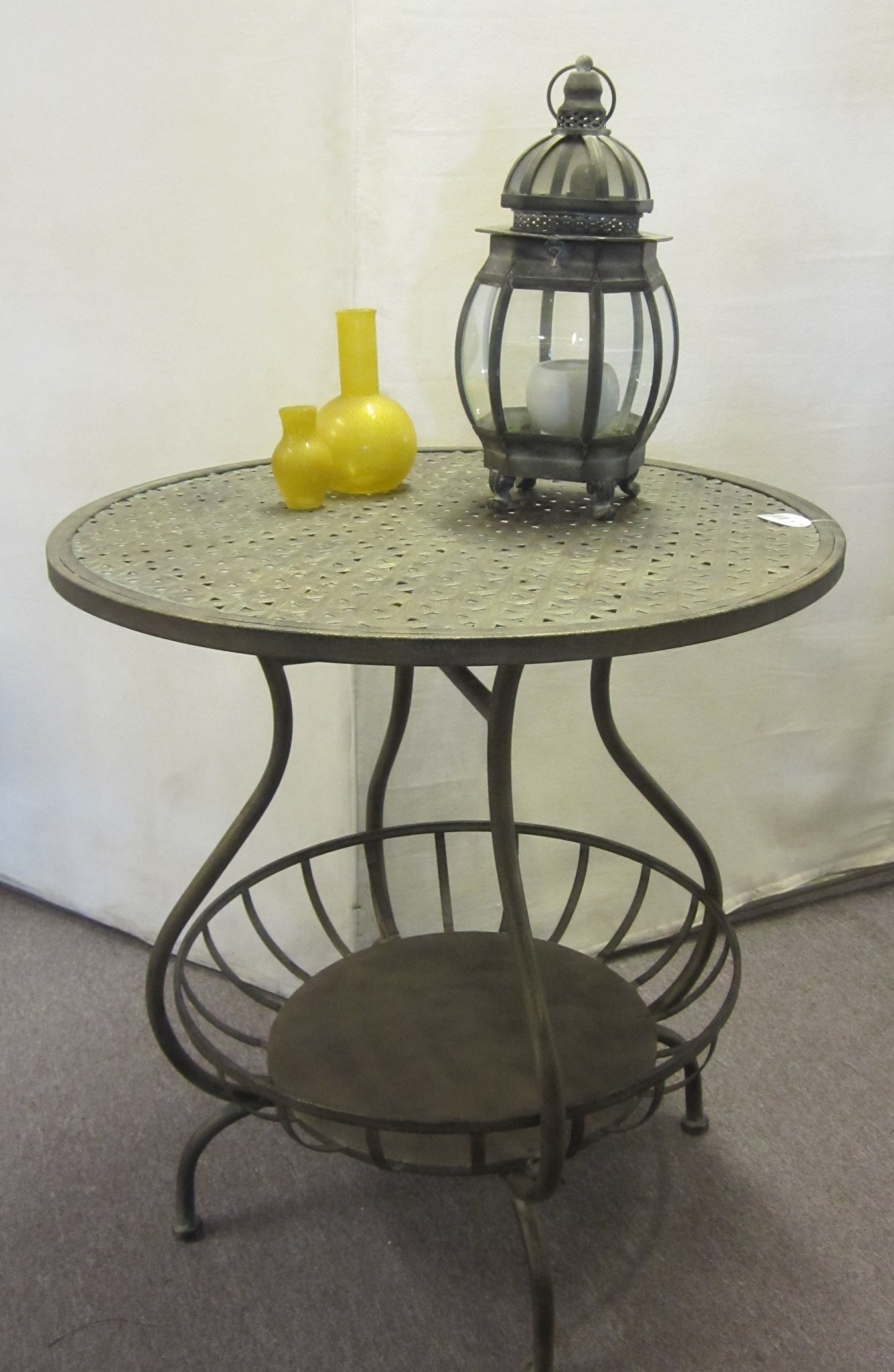 Cafebord Lampebord