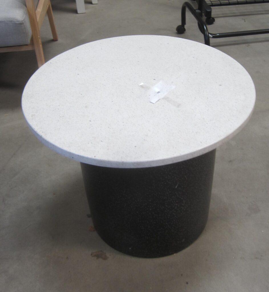 Lampebord med marmortop
